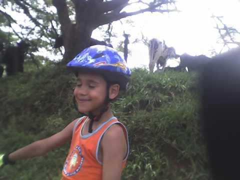 Gabriel, com 7 anos e já esta no TC